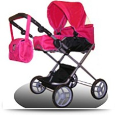 Buy 21 Bassinet Doll Stroller For Ages