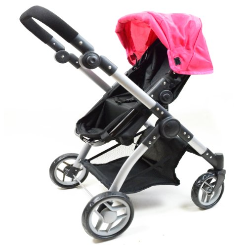 Compare - Babyboo Deluxe Twin Doll Pram/stroller vs 2-1 ...