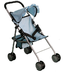 mommy doll stroller blue great star