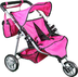 mommy twin doll stroller free carriage