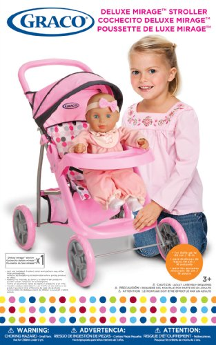 Deluxe Mirage Doll Stroller Toy Baby Strollers