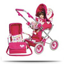 Buy Doll Accessories Deluxe Stroller