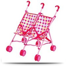 Buy Doll Double The Fun Stroller