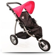 Doll Jogging Stroller For Ages 4