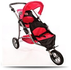 Buy Doll Twin Jogging Stroller