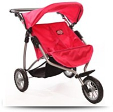 Buy Doll Twin Stroller For Ages 4