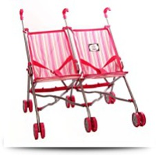 Easy Fold N Go Twin Doll Stroller