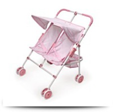Buy Folding Double Doll Umbrella Stroller