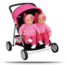 Buy Graco Twin Side By Side Doll Stroller