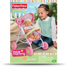 Buy Little Mommy Baby Doll Stroller