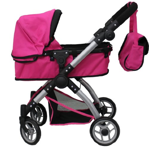 Toys For Strollers : Mommy and me in deluxe doll stroller toy baby strollers