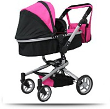 Buy Mommy And Me 2 In 1 Deluxe Doll Stroller