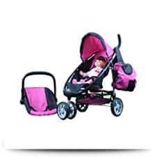 Buy Mommy And Me 2 In 1 Doll Stroller