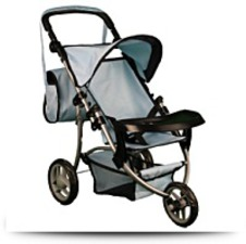 Buy Mommy And Me Boy Doll Stroller With Adjustable