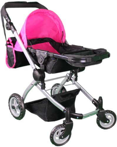 Mommy And Me Deluxe Babyboo Doll Stroller - Toy Baby Strollers