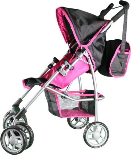Compare Mommy And Me Doll Stroller Swiveling Vs Babyboo Deluxe Doll Pram Color Purple