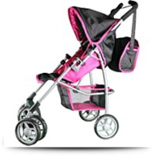 Mommy And Me Doll Stroller Swiveling
