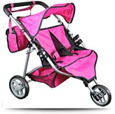 Buy Mommy And Me Twin Doll Stroller