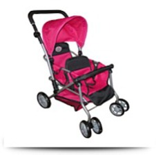 Buy My First Doll Twin Stroller