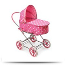 Buy Polka Dots 3IN1 Doll Pram Carrier