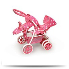 Buy Reversible Double Doll Stroller