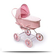 Buy Rosebud 3IN1 Doll Pram Carrier