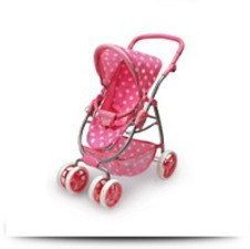 Buy Six Wheel Doll Travel System Stroller