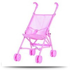 Buy Toy Cute Baby Doll Stroller