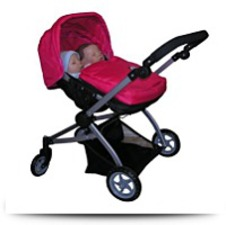 Buy Twin Doll Babyboo Stroller