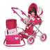 adora doll deluxe stroller then imagine