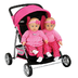 graco twin doll stroller double ride