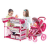 malibu doll play tandem stroller center
