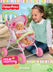 fisher-price little mommy doll stroller take