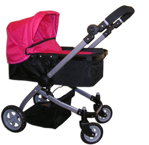 The New York Doll Collection Babyboo Bassinet Doll Stroller