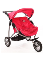 Doll Twin Stroller For Ages 4