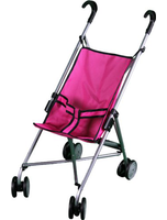 Mommy And Me Doll Stroller With Swiveling